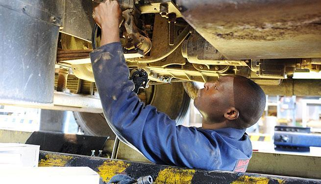 Servicing trucks, UD Trucks Alrode can assist