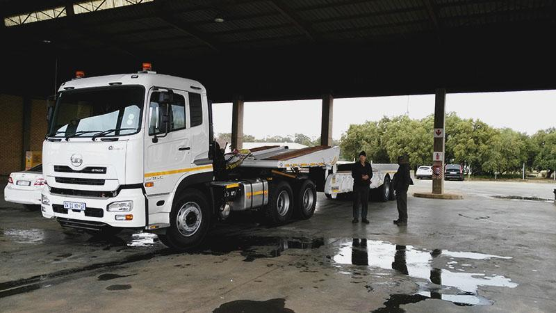 UD Trucks Alrode delivers to Rand Water